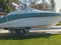 1992 Celebrity 245 Sport Cruiser. Presently in great