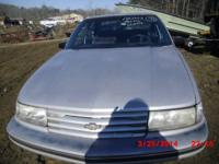STOCK NUMBER AA2302  1992 CHEV LUMINA GREY INT/GREY