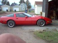 1992 Chevrolet Corvette in Excellent Condition Red