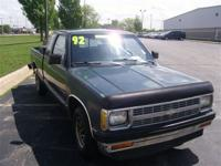 Options Included: ABS BrakesThis 1992 Chevrolet S-10