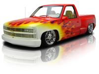 This spectacularly customized 1992 Chevy stepside