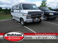 This 1992 Chevrolet Chevy Van 5dr features a 5.7L V8