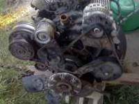 I am selling my 2 bolt main 350 engine. It has been