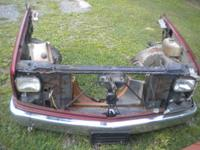 for sale is the front end off a 92 chevy pickup. Has