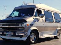 For sale is a 1992 Chevy G20, Geneva custom conversion