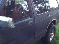 i have a 1992 chevy s-10 blazer for sale, it runs good