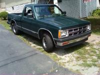 1992 chevy s10 pickup. Well maintained,fresh tune-up,