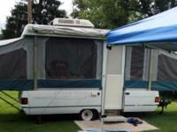 We have a 1992 Coleman Sequoia Pop Up camper for sale.
