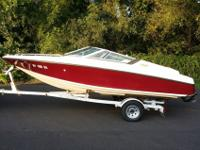 1992 Crownline 182 br with 350 hours 4.3 PMI Mercruiser