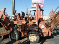 1992 Ditch Witch 3500 12in bucket 36in roller boom