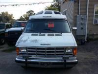 92 Dodge Road Trek 190 Class B Motor home, Runs and