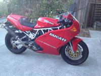 Very rare 1992 Ducati 900SS Supersport in showroom