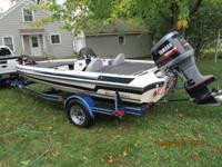 I have a 1992 Ebbtide DynaTrak Bass boat for sale. It