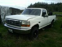 I have a 1992, F250 needs trany, nice truck it has a
