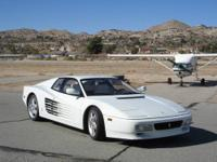 For Sale 1992 Ferrari 512 Testarossa with only 37000