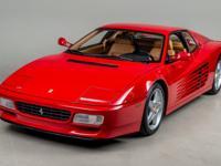 1992 Ferrari 512 TR VIN: ZFFLG40A1N0092009 Imported by
