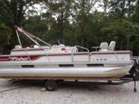 1992 Fisher 20ft Freedom 200 with 70hp Nissan. Short