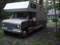 Selling a 1992 Fleetwood Bounder. Fully self contained.