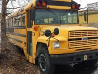 1992 Ford B700 Bus 6.6L Turbo diesel with automatic