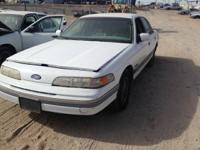 1992 Ford Crown Victoria Engine and Components!   This