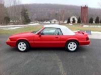 1992 Ford Mustang in Excellent Condition Red Exterior