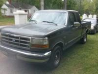 Ford truck f150, extra cab, ac, automatic transmission,