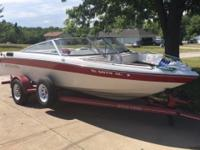 Up for grabs is our 1992 Four Winns Freedom 180 with