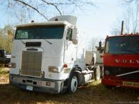 1992 FREIGHTLINER COE FLA 086 WHITE SINGLE SLEEPER