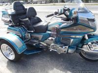 1500GL GOLDWING TRIKE 1992 LOTS OF EXTRA CHROME AND