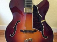 1992 Guild Artist Award Sunburst Acoustic Guitar for