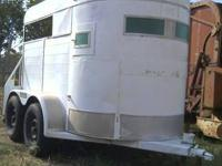 1992 Harc livestock/horse trailer. It's 18' long, 6'8""