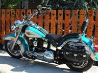 THIS IS A 1992 HARLEY DAVIDSON FLSTC HERITAGE