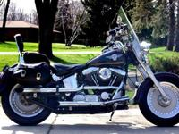 Up for Sale is my 1992 Harley Davidson FATBOY! It has