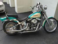 Here is a Mint 1992 Harley Softail Springer. This is a