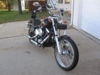 I have a 1992 Harley Softail Custom motorcycle in