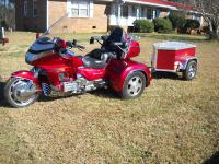1992 HONDA GOLDWING SE  WITH A CALIFORNIA  SIDECAR