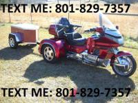 92 Honda Goldwing/Champion Trike, six cyl, 1500 CC,
