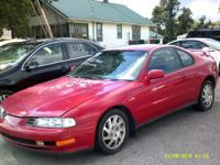 1992 Honda Prelude  $3995 with a $1000 down