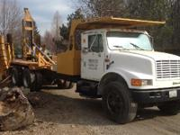 1992 INTERNATIONAL 4900, Engine: DT466 INTERNATIONAL,