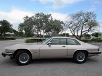 THIS 1992 JAGUAR XJS IS A BEAUTIFUL EXAMPLE OF A FULLY