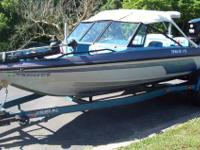 1992 javelin fish & ski with 150hp suzuki DT150 motor,