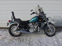 1992 Kawasaki Vulcan 750 is in good shape with 40,195