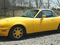 Uncommon bird for sale-- 1992 Sunburst Yellow 5-speed!