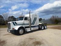 1992 PETERBILT 379, Conventional w/ Sleeper, 12.7 60