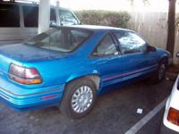 1992 Pontiac Grand Prix... FAIR CONDITION -Light Blue/