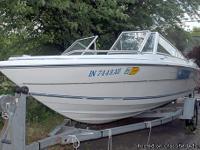 """1992 Renken 1700 Classic 17"""" sport and ski boat, open"""