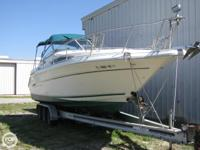 This is a 2 owner boat and is likewise a fresh water