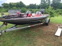 1992 STRATOS BASS BOAT !! THIS BOAT IN GREAT MECHANICAL