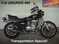 1992 Suzuki GN250 motorcycle - Only 1,827 miles. You