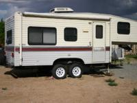 This is a very Clean 21.5 foot Terry 5th wheel,